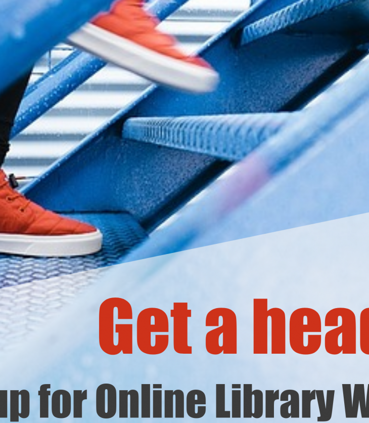 Online Library Workshops stairs and sneakers